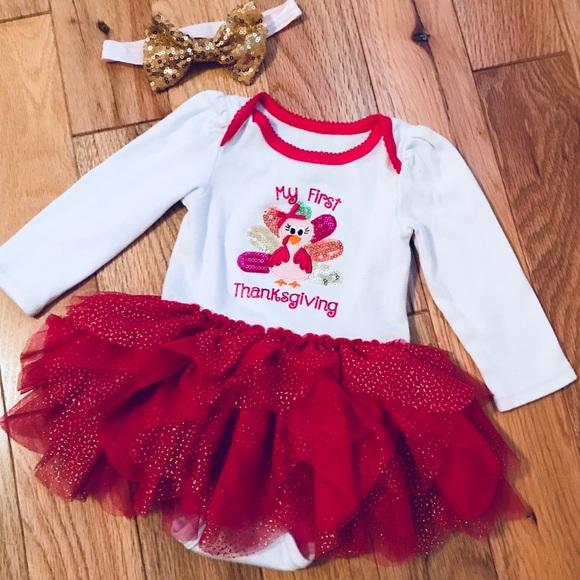 d5e339e4f911 Koala Kids One Pieces | Babys 1st Thanksgiving Outfit | Poshmark